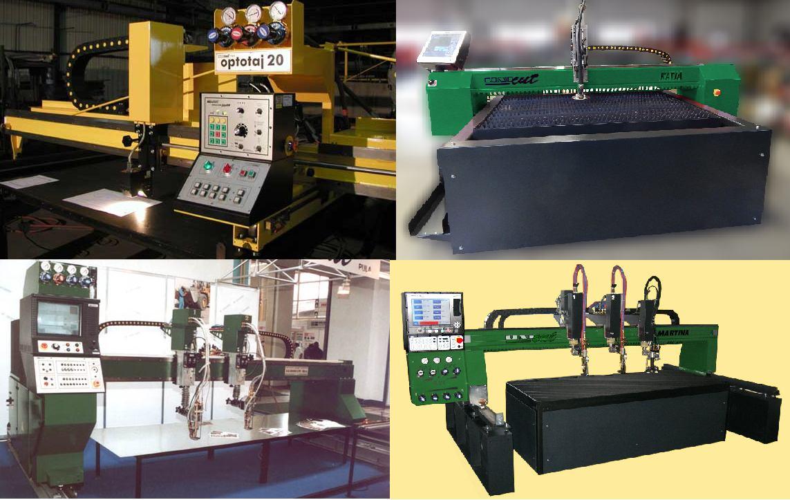 Strojevi za<br>plinsko / plazma<br>rezanje